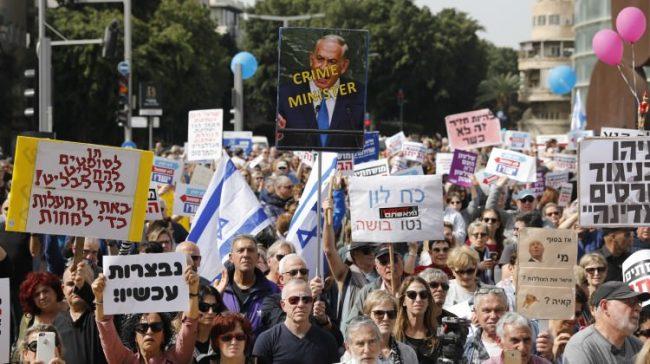Yahudiler Bile Netanyahu'ya Tahammül Edemiyor