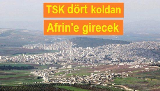 TSK, Afrin'e Girecek mi?