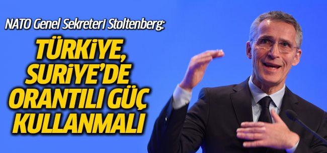 Stoltenberg, Türkiye'nin ABD'den İcazet Almasını İstedi