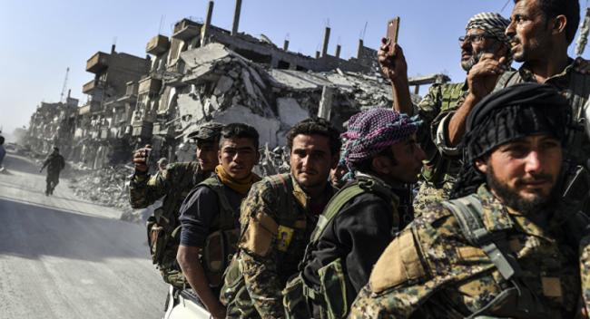 DSG'den YPG'ye Destek