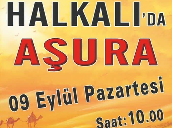 Halkalı'da Aşura 9 Eylül Pazartesi Saat 10.00'da